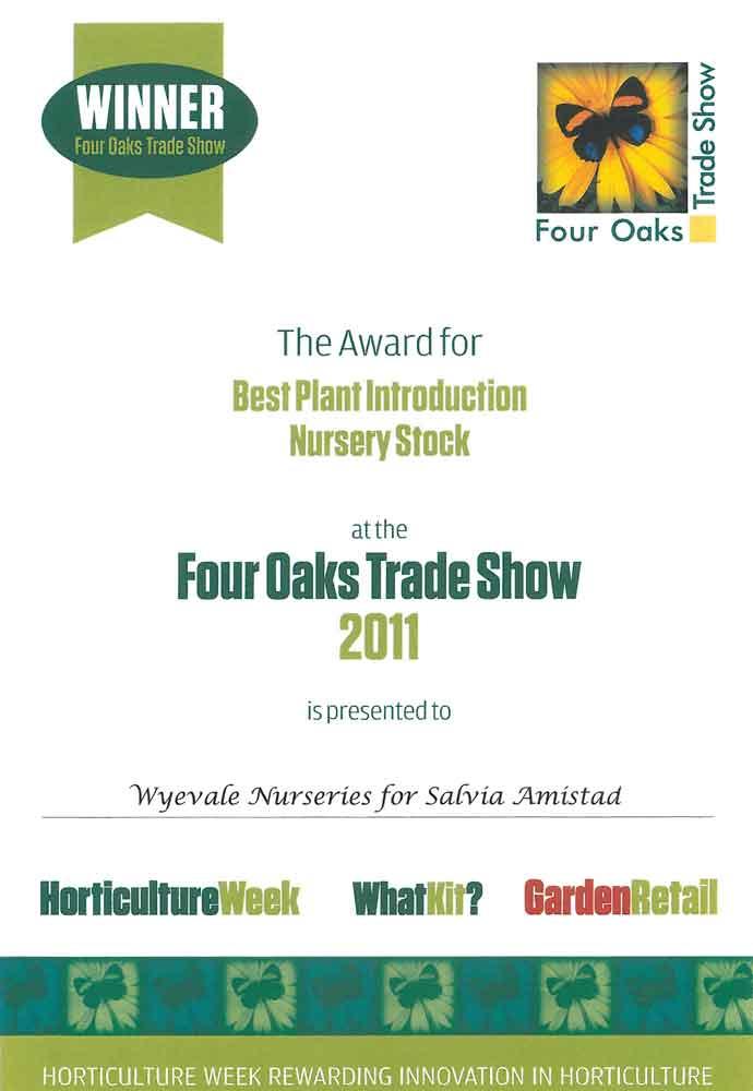 Four-Oaks-Amistad-Award